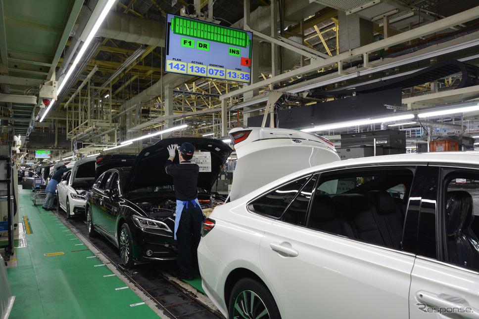 トヨタ自動車元町工場《写真提供 トヨタ自動車》
