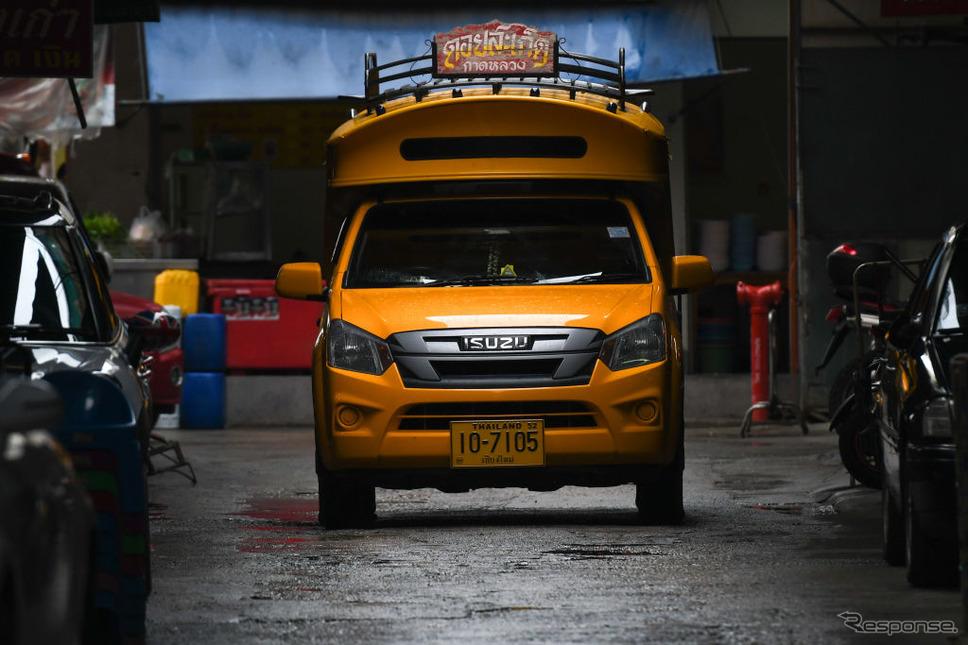 いすゞ(たい、チェンマイ)《Photo by Artur Widak/NurPhoto via Getty Images/ゲッティイメージズ》