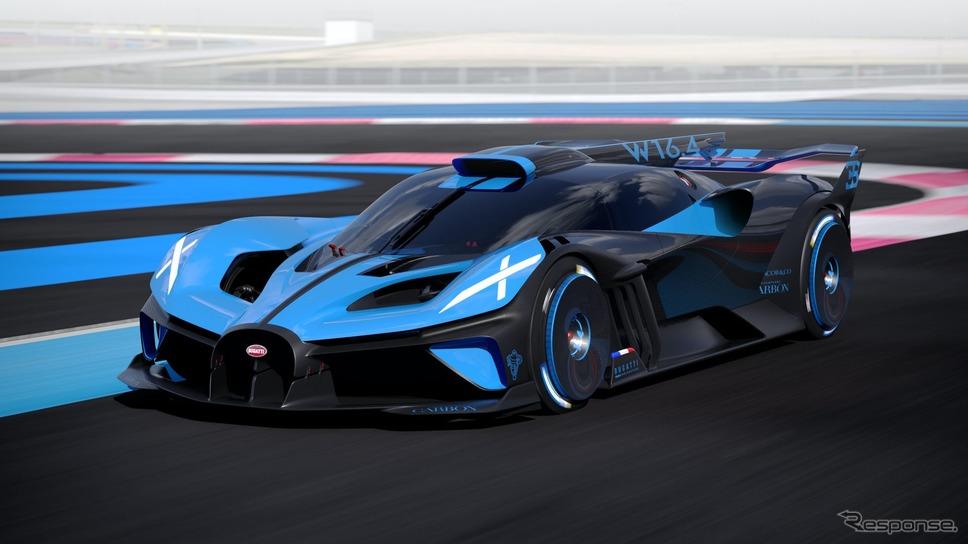 ブガッティ・ボリード《photo by Bugatti》