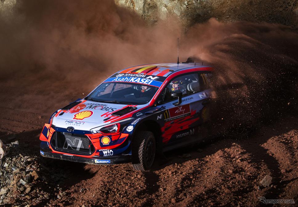 今季WRC第5戦トルコの模様。《写真提供 Red Bull》