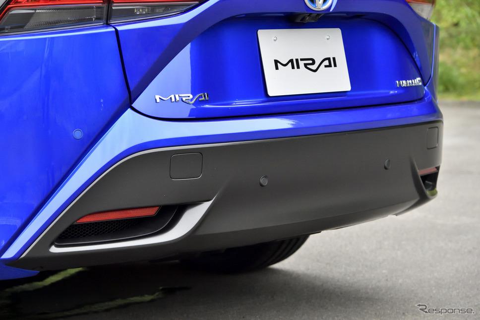 トヨタ MIRAI 新型(プロトタイプ)《写真撮影 雪岡直樹》