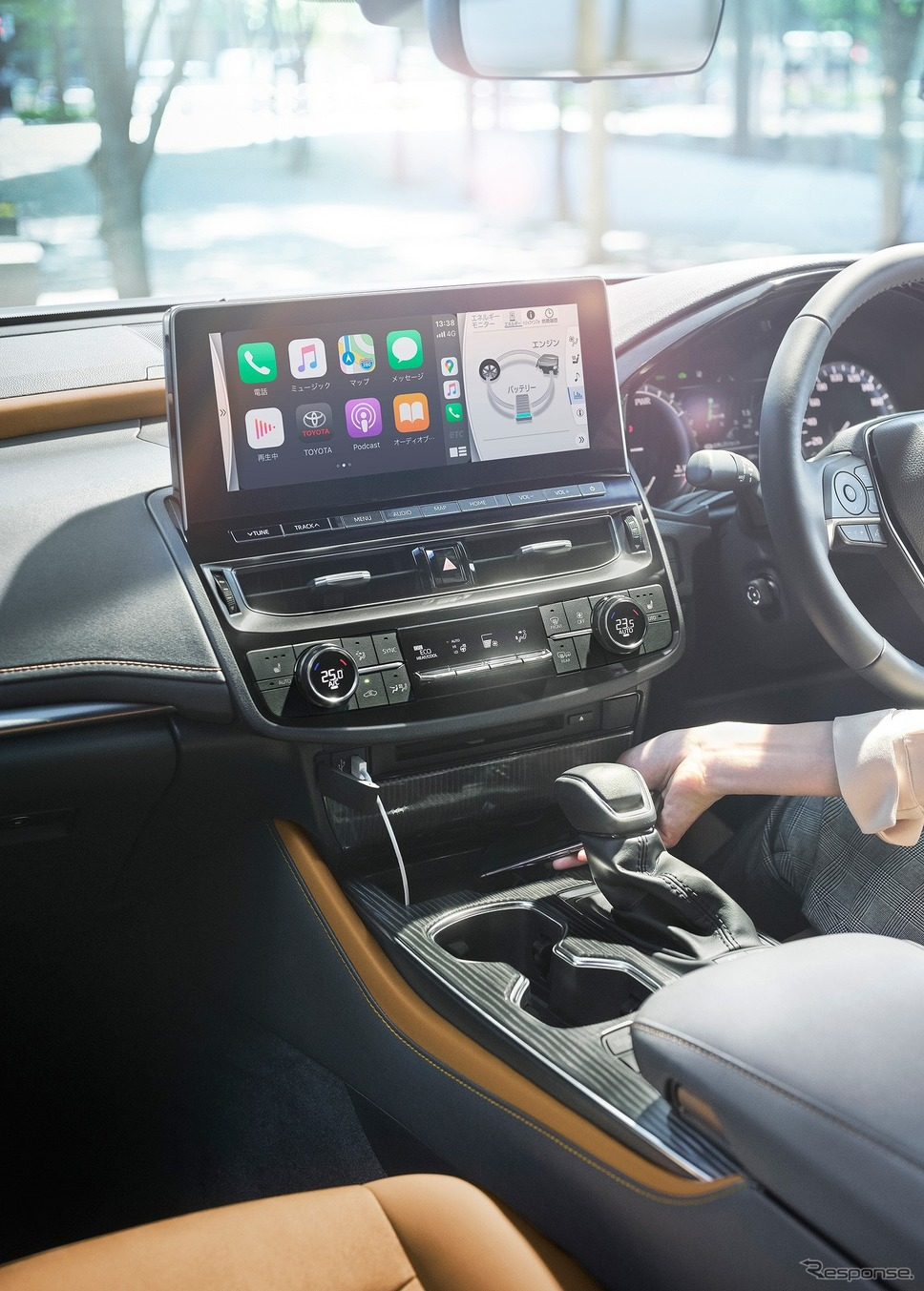 トヨタ クラウン T-コネクトSDナビゲーションシステム《写真提供 トヨタ自動車》