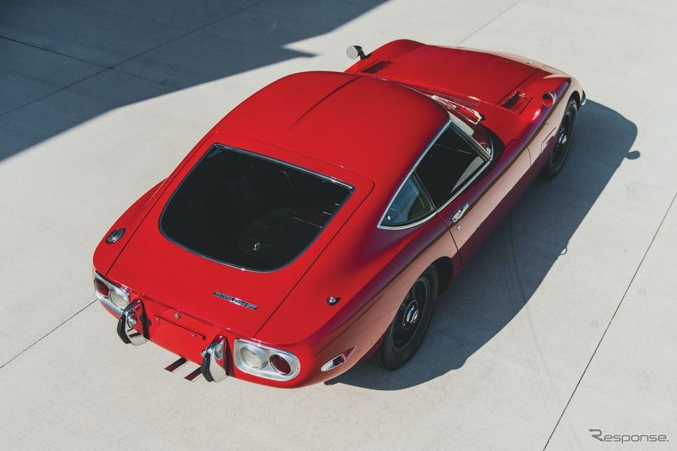 トヨタ 2000GT(1967年式)《photo by RM Sotheby's》