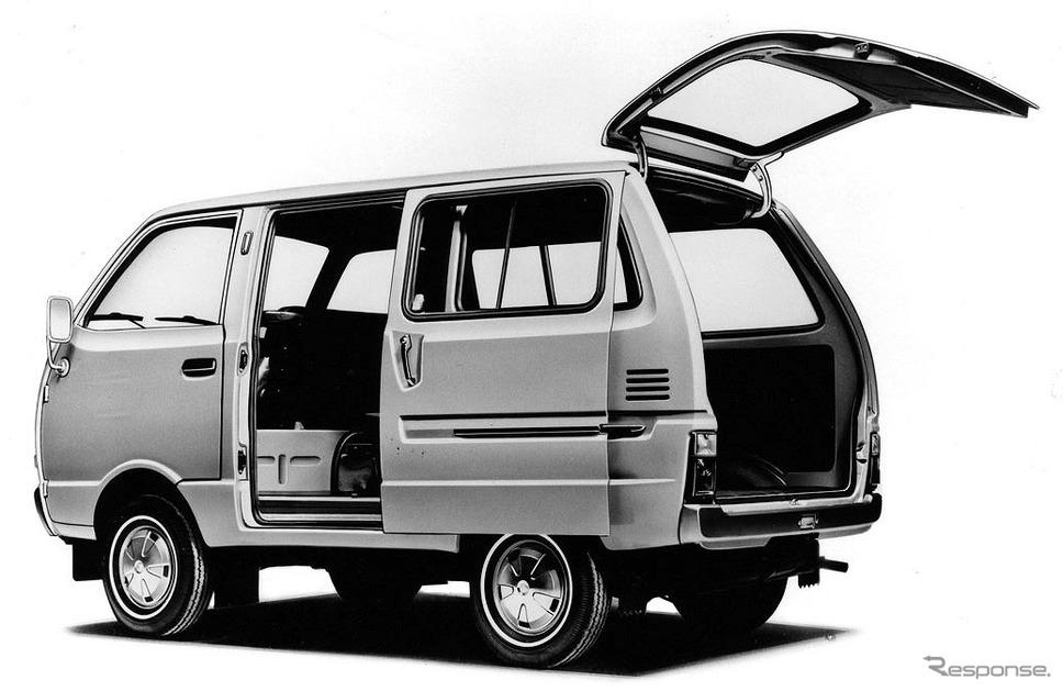 4代目:ハイゼットスライドバン・スーパーデラックス《写真提供 ダイハツ工業》