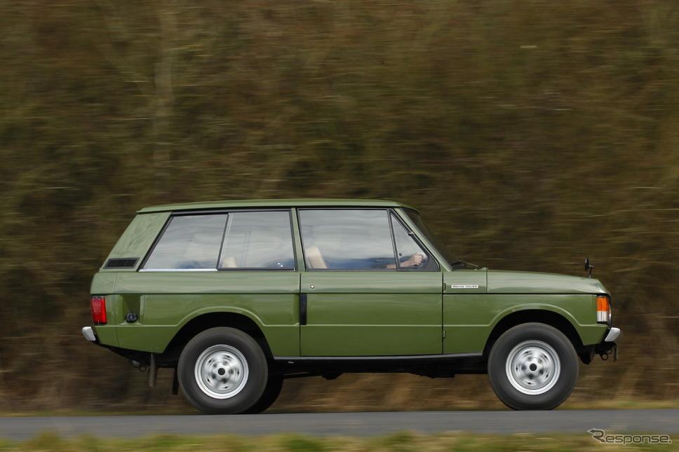 初代レンジローバー《photo by Land Rover》