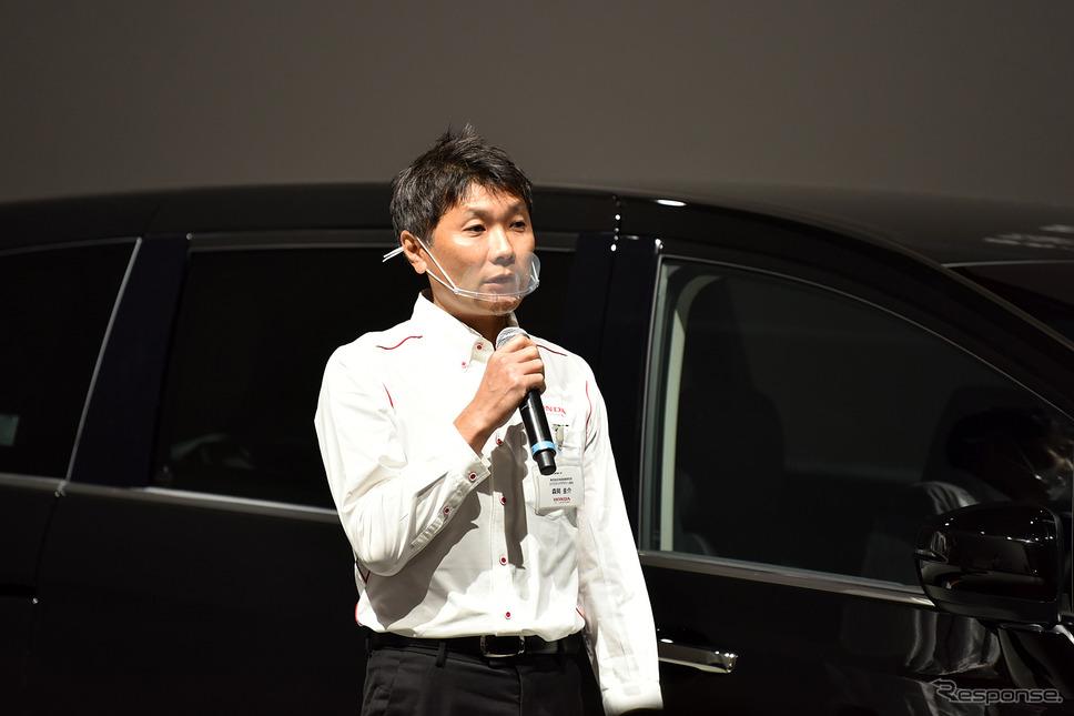 本田技術研究所 デザインセンター オートモービルデザイン開発室 デザイン エクステリア担当 森岡圭介氏《撮影 中野英幸》