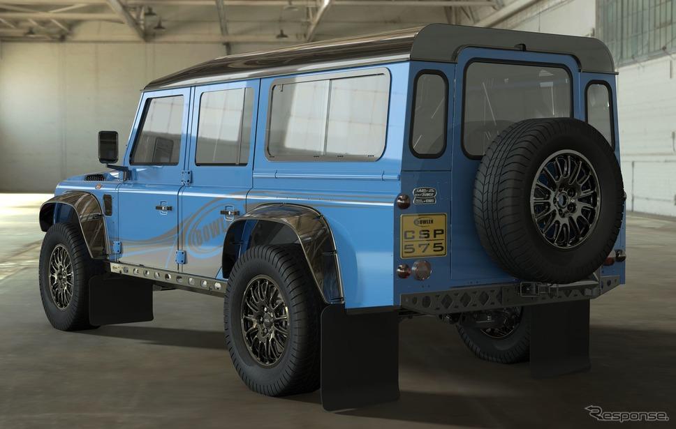 ランドローバーとボウラー社の「CSP 575」プロジェクト《photo by Land Rover》