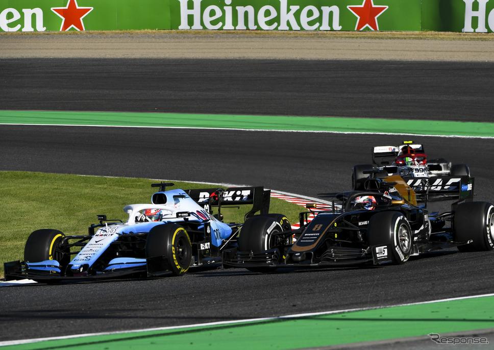 2019年F1日本GPの模様(鈴鹿サーキット)。《写真提供 Pirelli》
