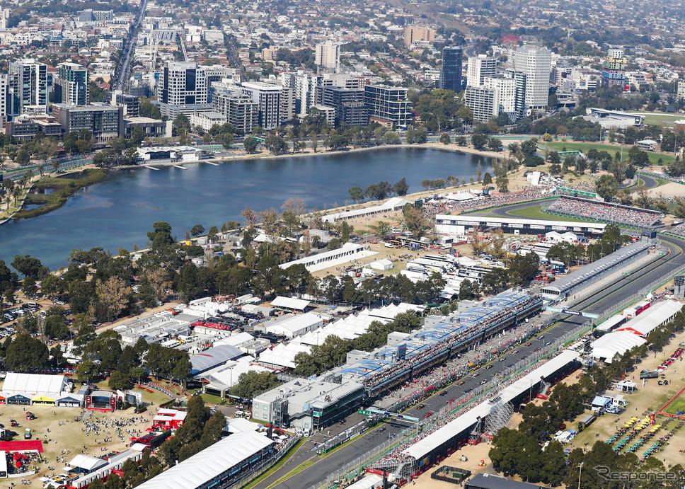 2021年のF1は通常のメルボルン開幕に戻る予定(写真は2019年F1オーストラリアGP)。《写真提供 Pirelli》