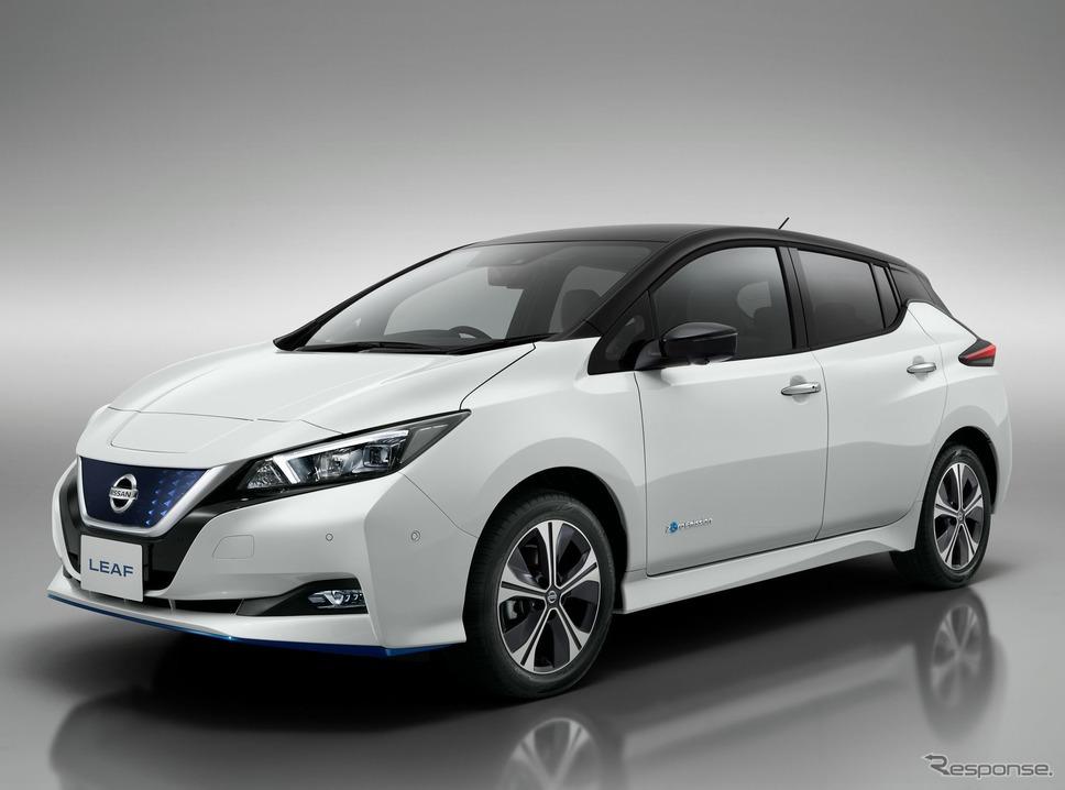 日産リーフ(欧州仕様)《photo by Nissan》