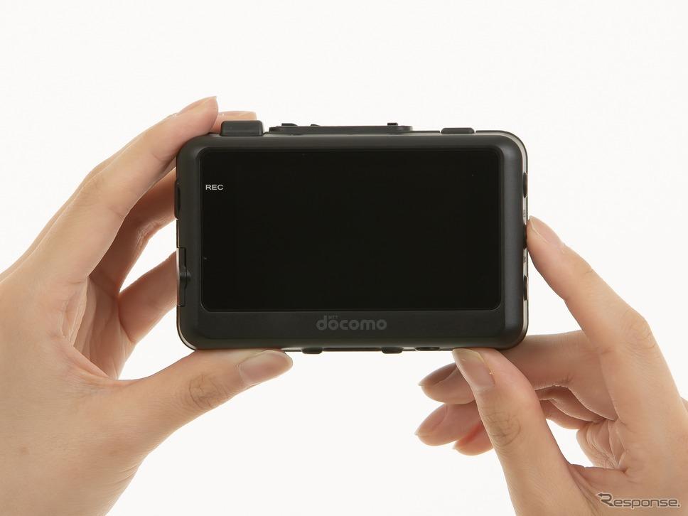 ドコモドライブレコーダーDDR01《写真提供 NTTドコモ》