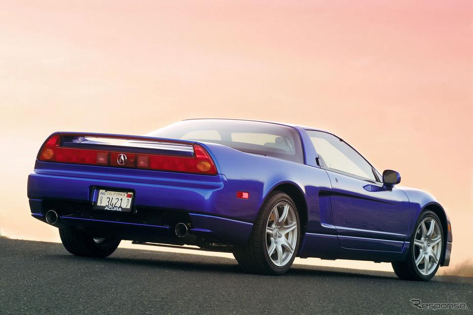 2002〜05年型に設定されていたロングビーチブルー《photo by Acura》
