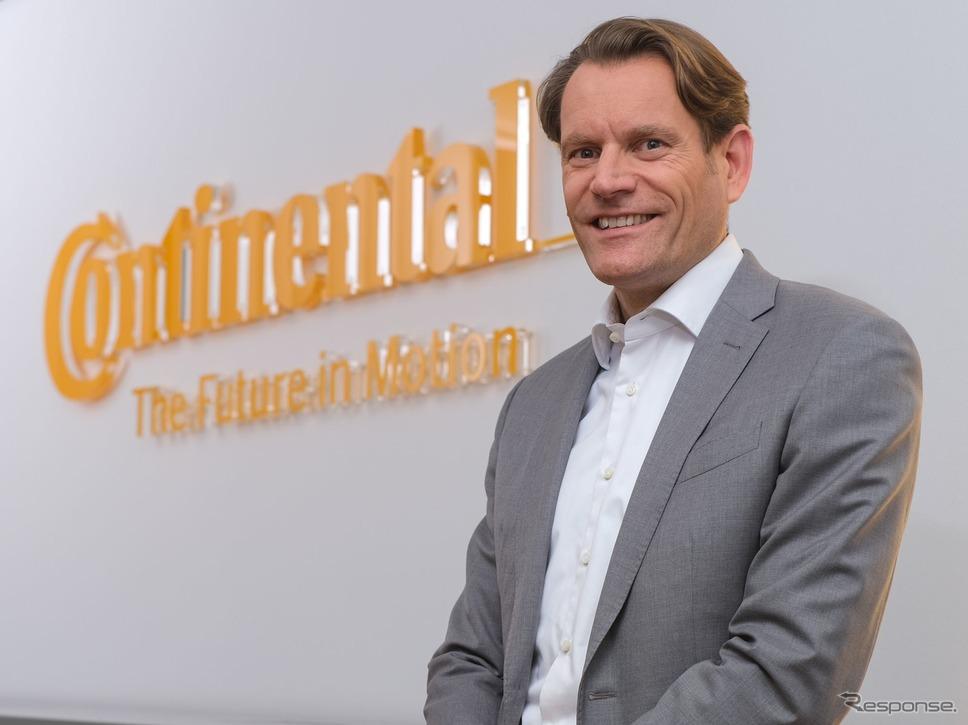 コンチネンタルの次期CEO、ニコライ・セッツァ氏《photo by Continental》