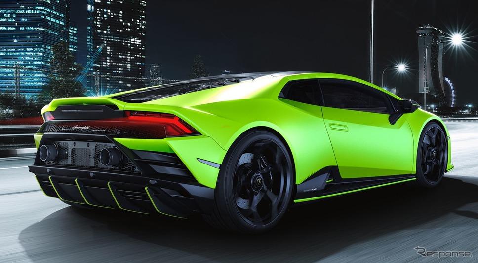 ランボルギーニ・ウラカンEVO の2021年モデル(参考)《photo by Lamborghini》