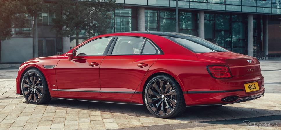 ベントレー・フライングスパー V8 新型《photo by Bentley》