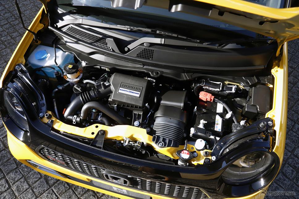ホンダ N-ONE 新型「RS」のターボエンジン《写真撮影  小林岳夫》