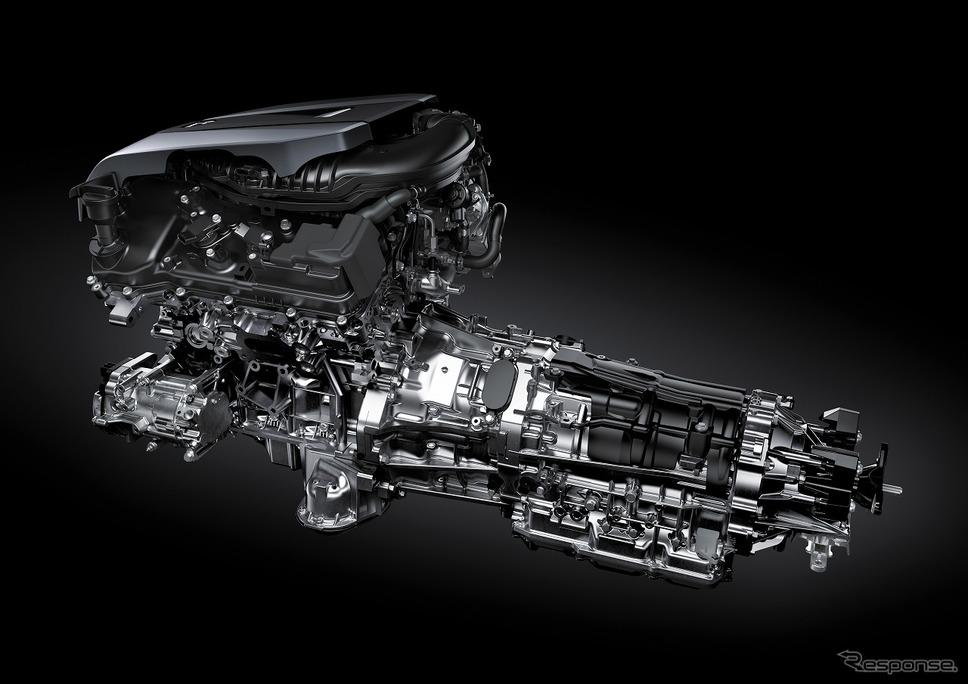 マルチステージハイブリッドシステム《写真提供 トヨタ自動車》