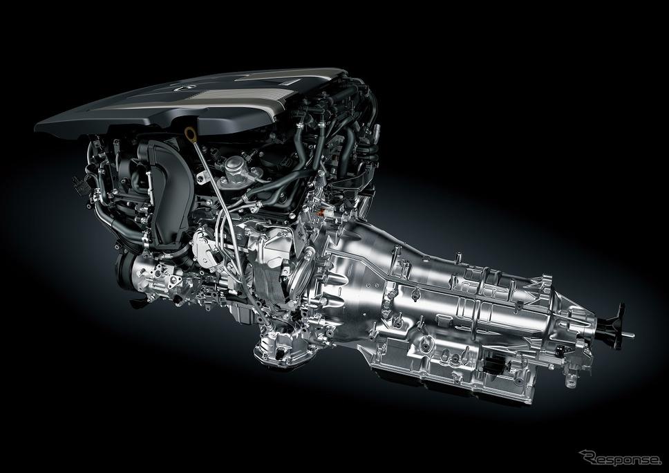 V6 3.5Lツインターボエンジン《写真提供 トヨタ自動車》