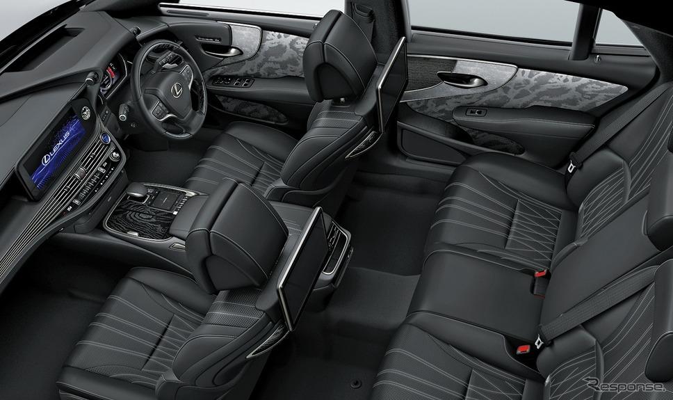 レクサス LS500h エグゼクティブ(インテリアカラー:ブラック)《写真提供 トヨタ自動車》