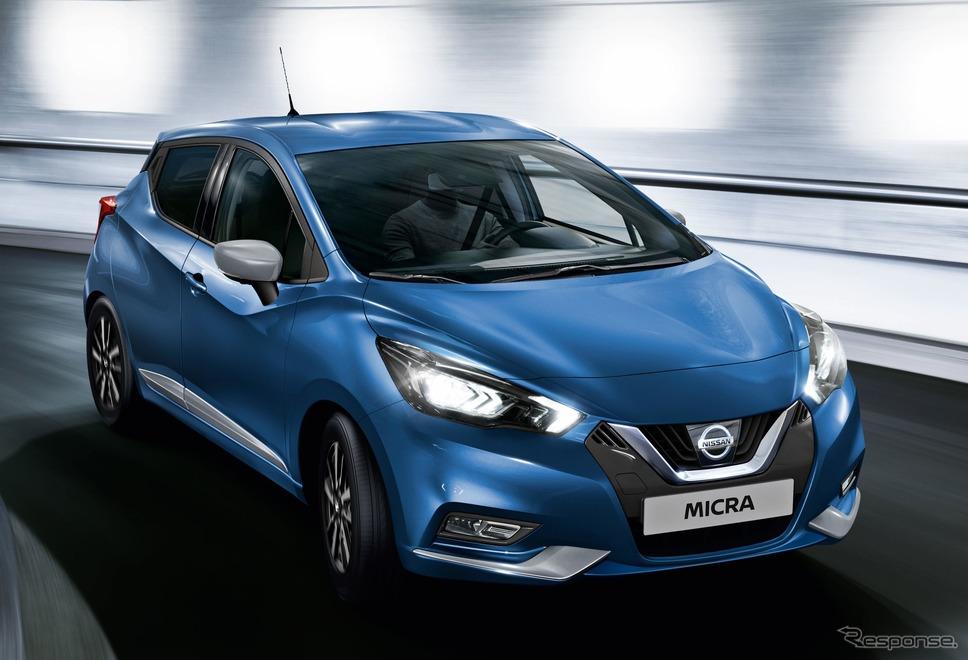 日産 マイクラ の2021年モデル《photo by Nissan》