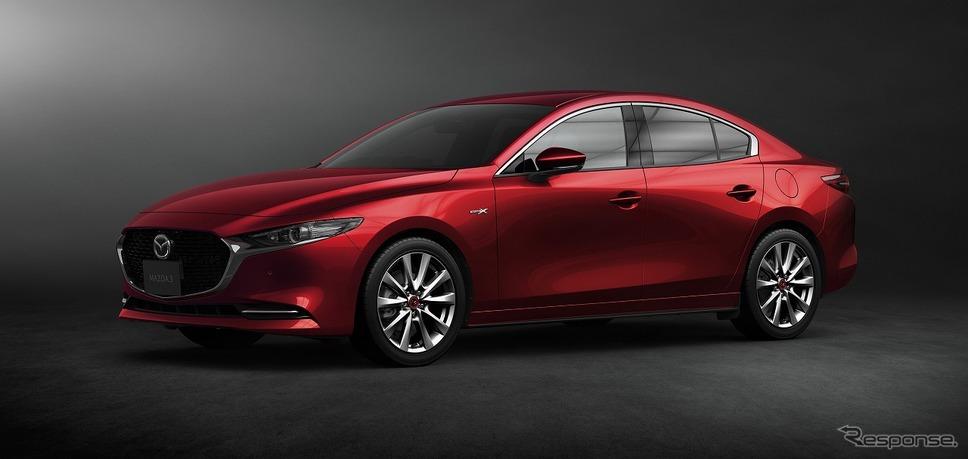 2020 マツダ3 セダン 100周年特別記念車 2020 ワールド・カー・デザイン・オブ・ザ・イヤー受賞記念モデル SKYACTIV-X搭載(国内仕様)《写真提供 マツダ》