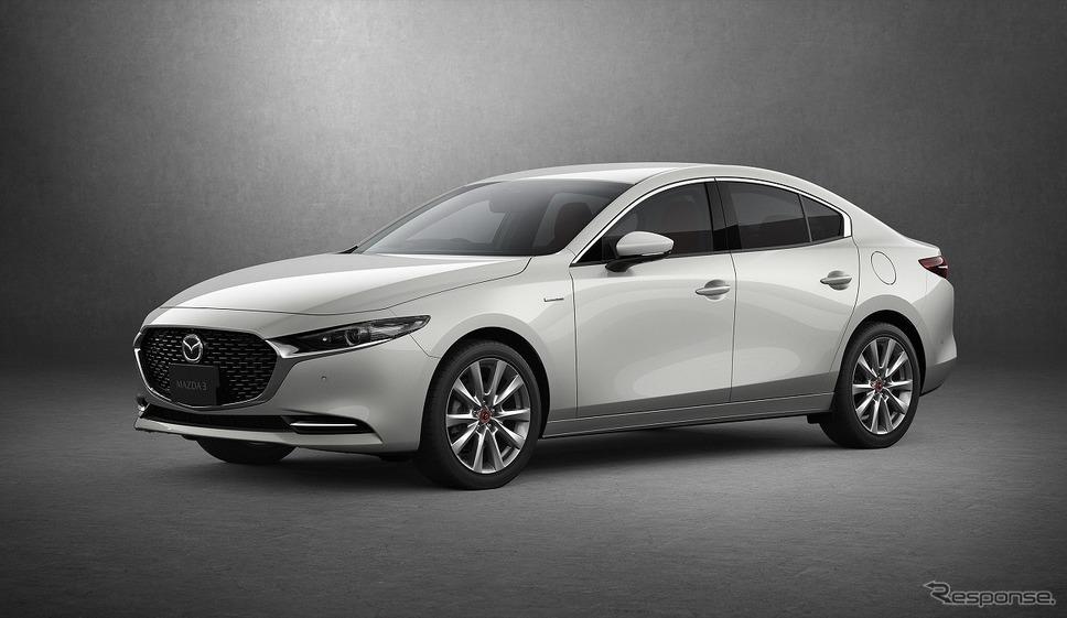 2020 マツダ3 セダン 100周年特別記念車(国内仕様)《写真提供 マツダ》