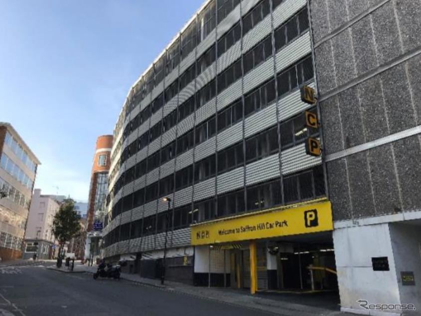 設置するロンドンの駐車場《写真提供 パーク24》