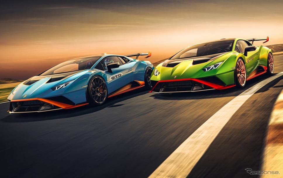 ランボルギーニ・ウラカン STO《photo by Lamborghini》