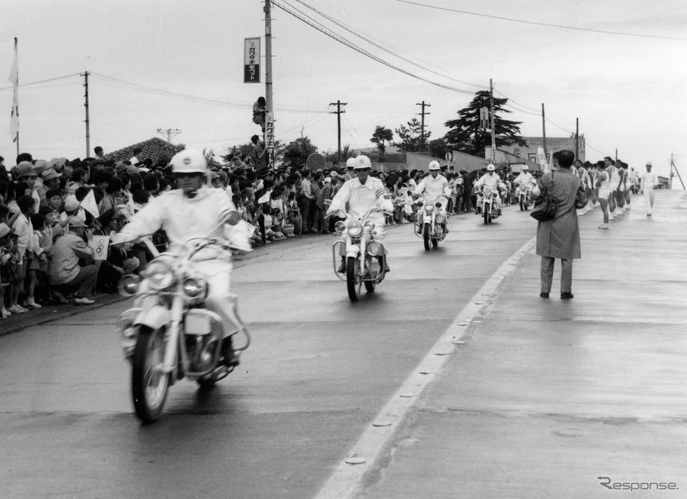 戦前から国産大排気量車を生産し、オリンピックでも雄姿《写真提供 カワサキモータースジャパン》