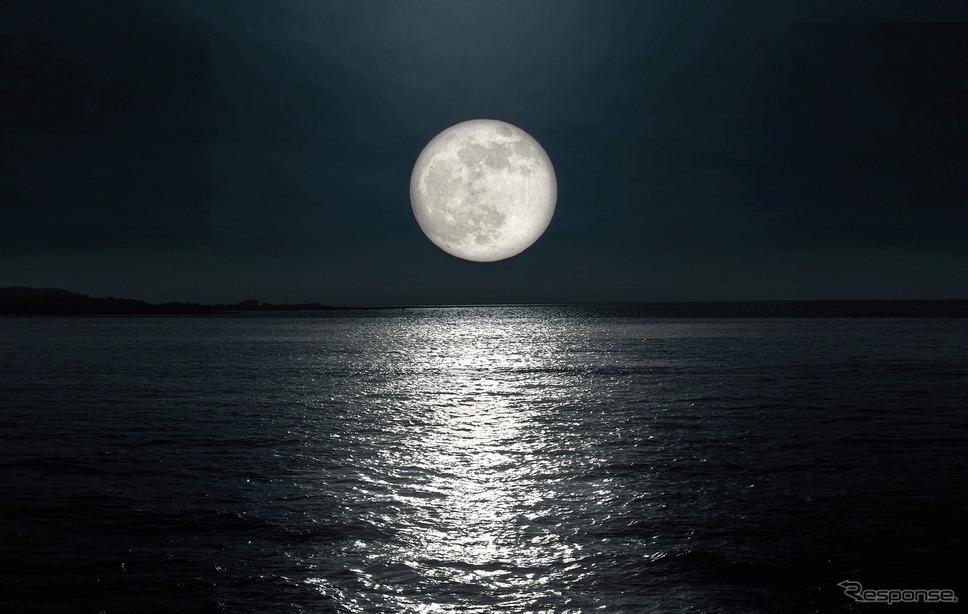 コンセプト「月の道」イメージ《写真提供 トヨタ自動車》