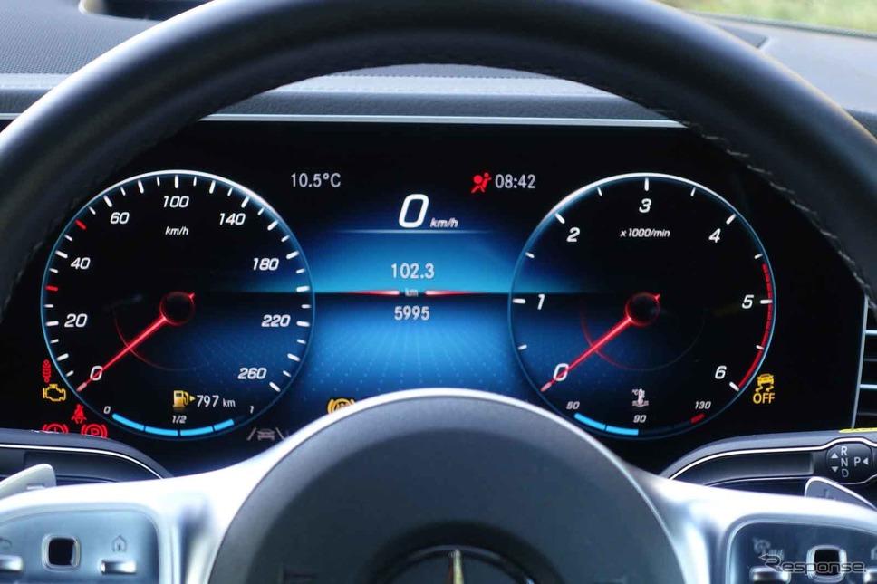 メルセデスベンツ GLE400d 4MATIC クーペ スポーツ《写真撮影 中村孝仁》