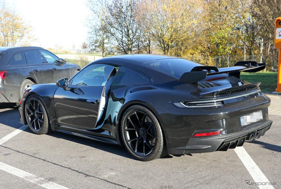ポルシェ 911 GT3 次期型プロトタイプ(スクープ写真)《APOLLO NEWS SERVICE》