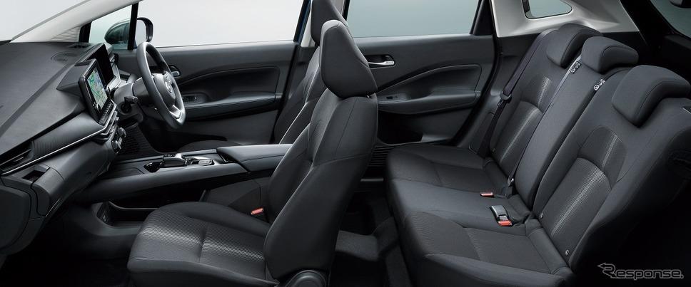 日産 ノート X(内装色 ブラック)《写真提供 日産自動車》