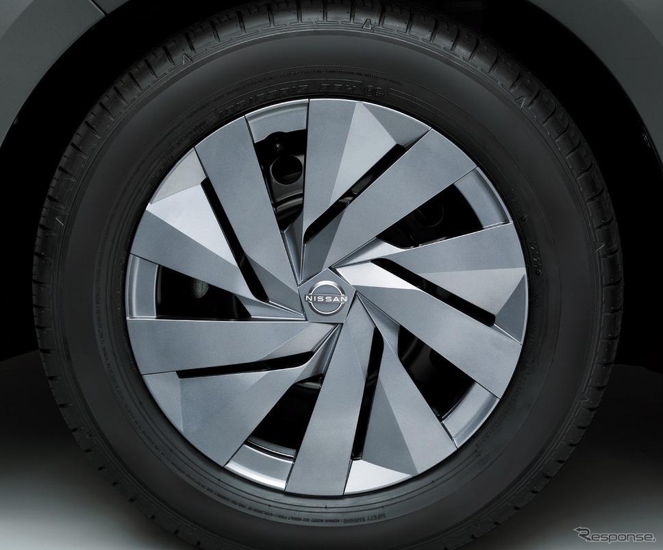タイヤ&ホイール 15インチフルホイールカバー S/F《写真提供 日産自動車》