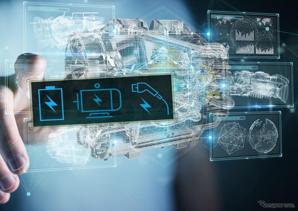 ダイムラーと浙江吉利控股集団が共同開発する次世代ハイブリッド車向けパワートレインのイメージ《photo by Daimler》
