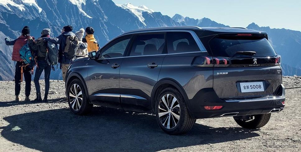 プジョー SUV 5008 改良新型《photo by Peugeot》