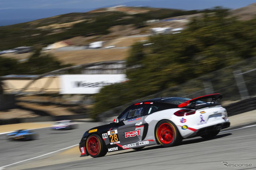 ラグナセカ「コークスクリュー」《photo by Porsche》