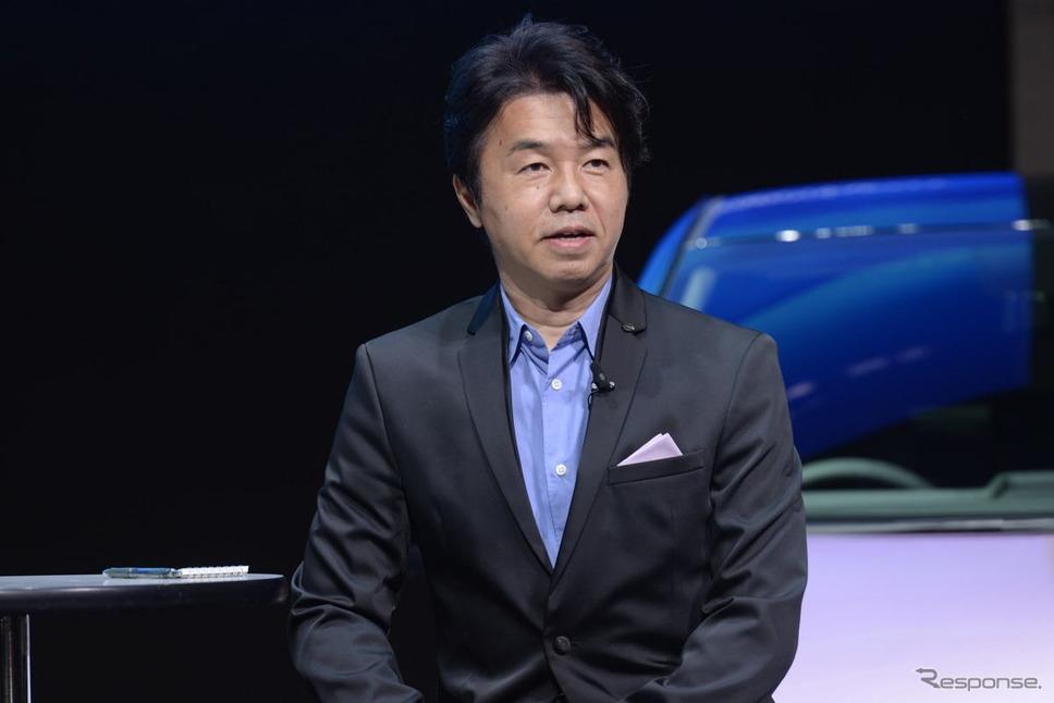 日産グローバルデザイン本部入江慎一郎プログラムデザインダイレクター《写真提供 日産自動車》