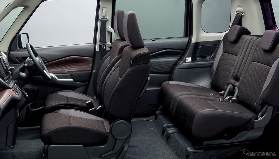 スズキ・ソリオバンディット・ハイブリッドMZ 2WD車 シート《写真提供 スズキ》