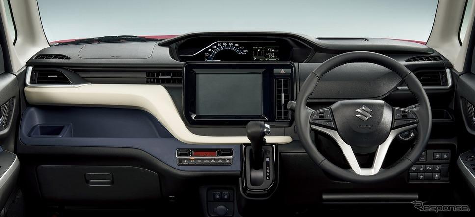 スズキ・ソリオ・ハイブリッドMZ 2WD、インパネ《写真提供 スズキ》