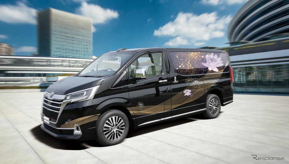 光岡自動車の新型霊柩車 グランエースエボリューション《写真提供 光岡自動車》