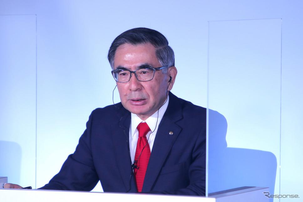 スズキの鈴木俊宏社長《写真提供 スズキ》