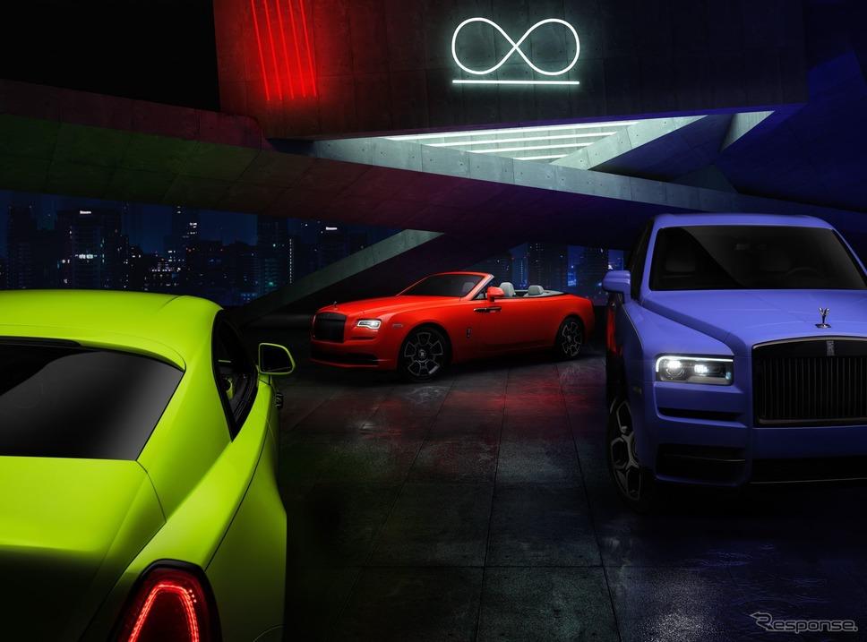 ロールスロイス・ブラックバッジ・ネオンナイト《photo by Rolls-Royce Motor Cars》