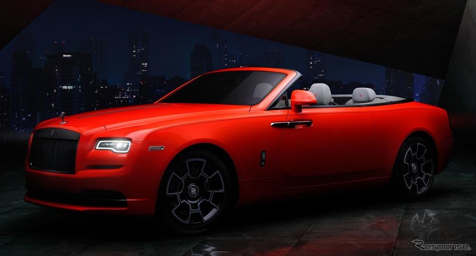 ロールスロイス・ドーン・ブラックバッジ・ネオンナイト《photo by Rolls-Royce Motor Cars》