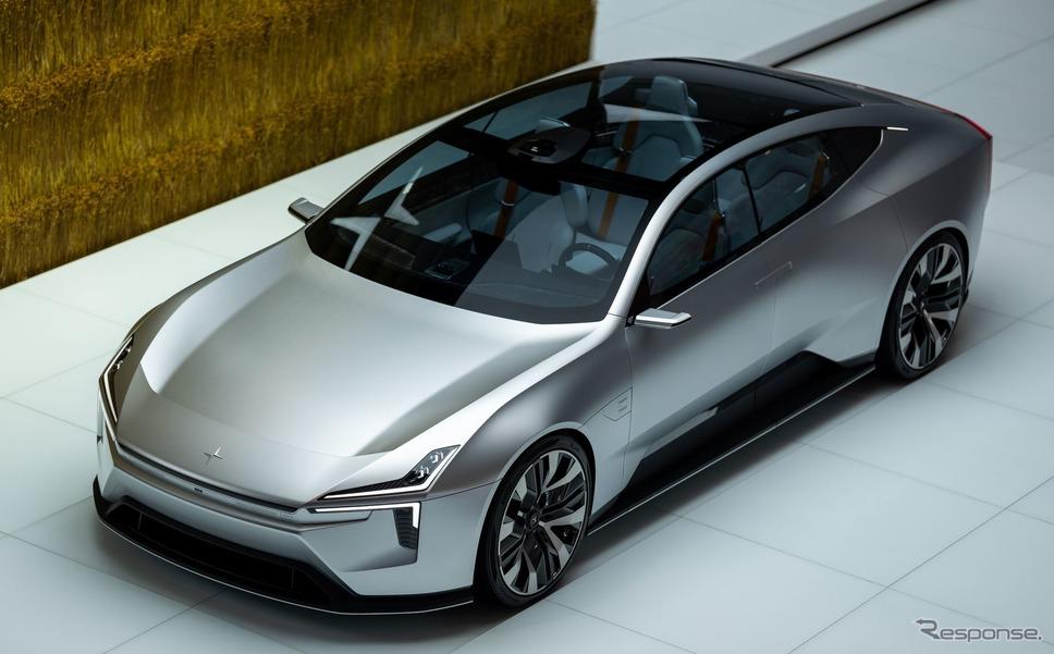 電気自動車ブランド「ポールスター」が北京モーターショー2020で見せた「プリセプト」《photo by Polestar》