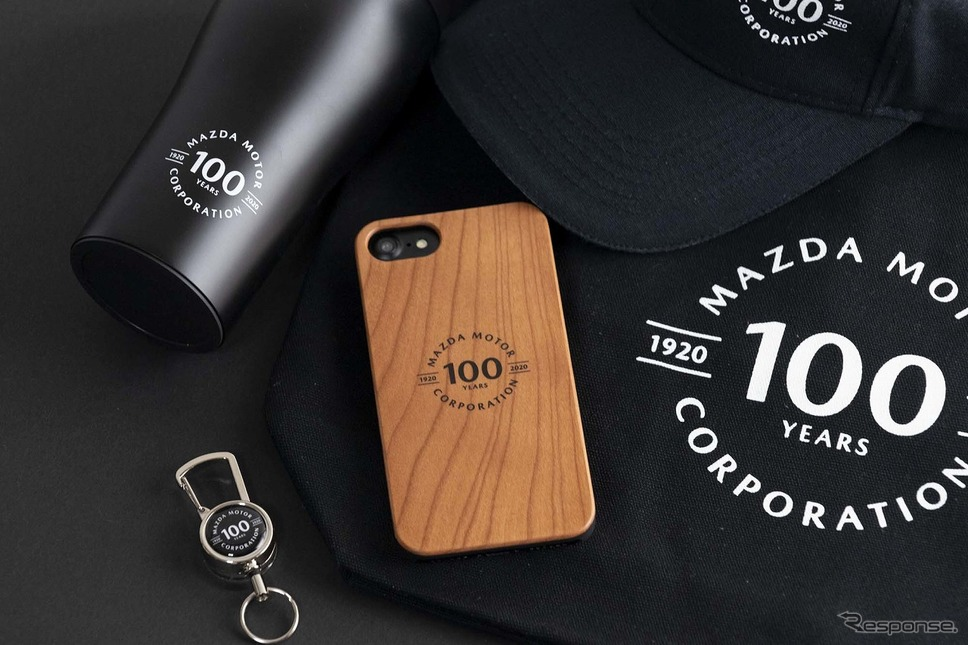 マツダ100th Anniv. Wood iPhoneケース iPhone12用《写真提供 MZRacing》