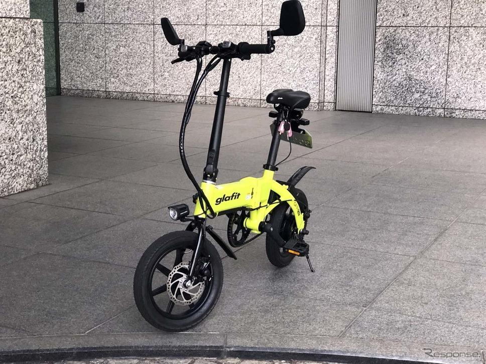 ハイブリッドバイクの第二弾「GFR-02」。ハンドルやライト周りも一新された《写真撮影 会田肇》