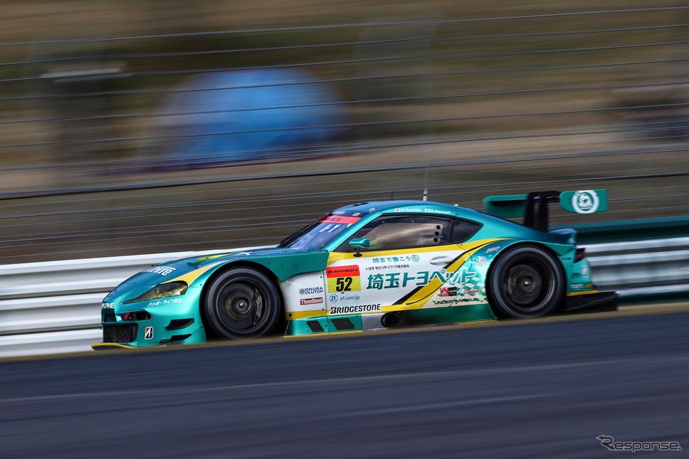 GT300クラス ポールポジションを獲得した#52 埼玉トヨペットGB GR Supra GT《撮影 益田和久》