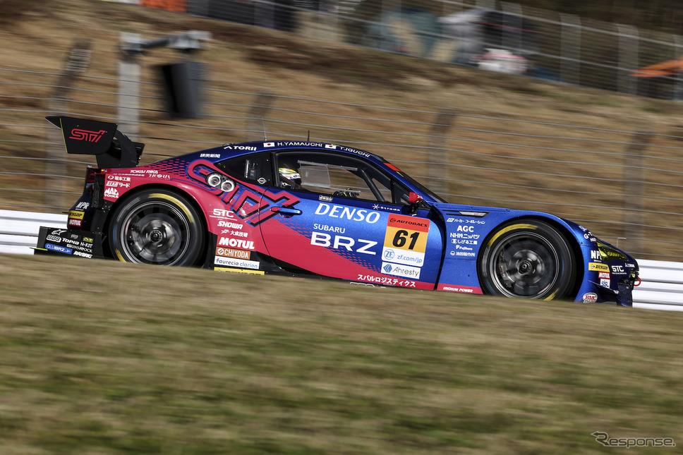 GT300クラス予選2番手の#61 SUBARU BRZ R&D SPORT《撮影 益田和久》