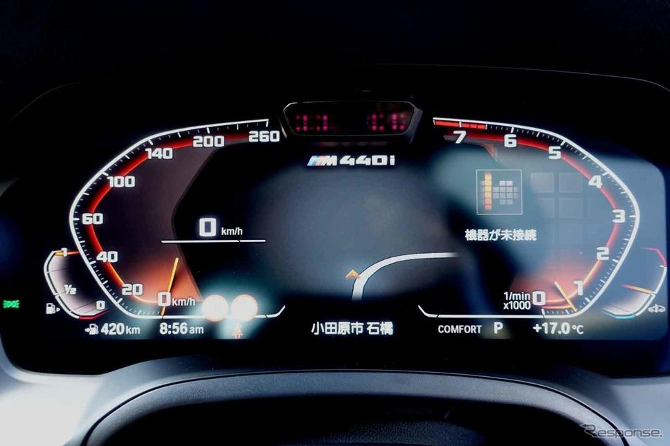 BMW 440i xDrive《写真撮影 中村孝仁》